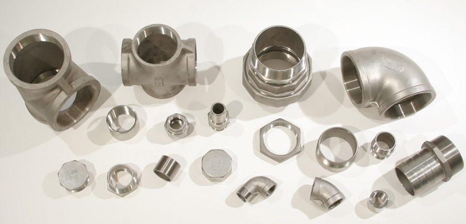 THREADED STAINLESS STEEL FITTINGS
